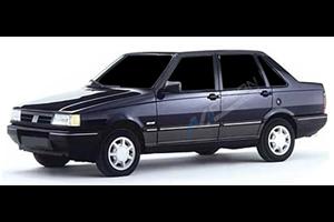 Fiat Premio com fundo branco