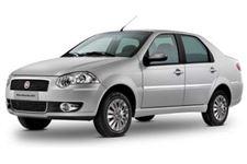 Fiat Siena com fundo branco