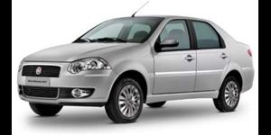 Fiat Siena fundo branco