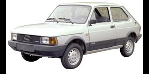 Fiat Spazio fundo branco