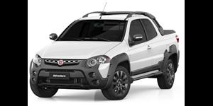 Fiat Strada fundo branco