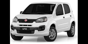 Fiat Uno fundo branco