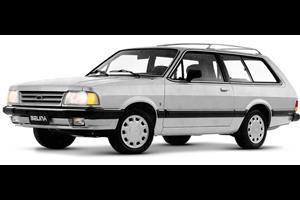 Ford Belina fundo branco
