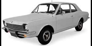 Ford Corcel fundo branco