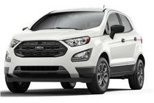 Ford EcoSport com fundo branco