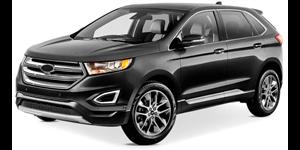 Ford Edge fundo branco