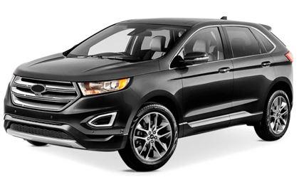 Ford Edge com fundo branco