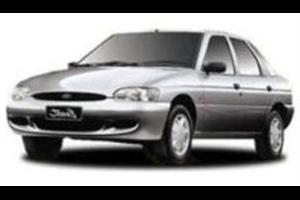 Ford Escort fundo branco