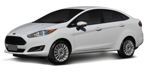 Ford Fiesta Sedan fundo branco