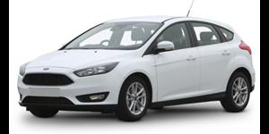 Ford Focus fundo branco
