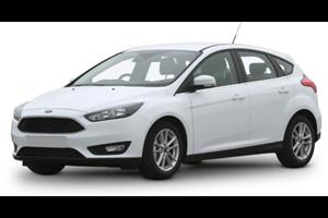 Ford Focus com fundo branco