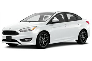 Ford Focus Sedan com fundo branco