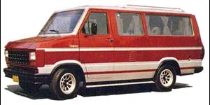 Ford Furglaine fundo branco