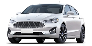 Ford Fusion fundo branco