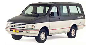 Ford Ibiza fundo branco