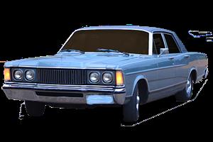 Ford Landau fundo branco