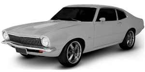 Ford Maverick fundo branco