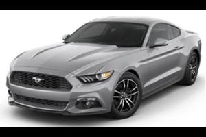 Ford Mustang com fundo branco