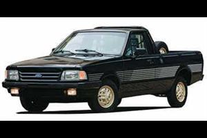 Ford Pampa com fundo branco