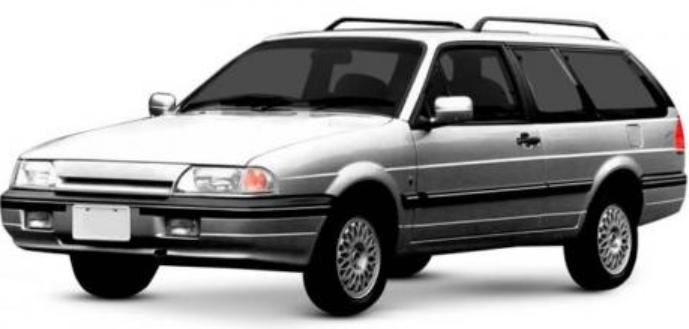 Ford Royale com fundo branco