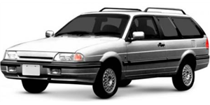 Ford Royale fundo branco