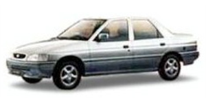 Ford Verona fundo branco
