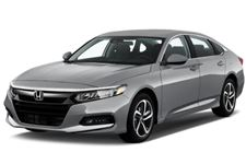 Honda Accord com fundo branco