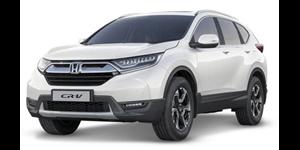 Honda CR-V fundo branco