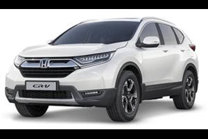 Honda CR-V com fundo branco