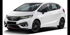 Honda Fit fundo branco