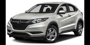 Honda HR-V fundo branco