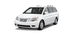 Honda Odyssey fundo branco