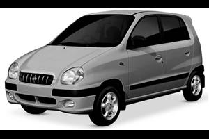Hyundai Atos fundo branco
