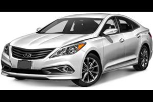 Hyundai Azera fundo branco
