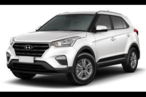 Hyundai Creta fundo branco