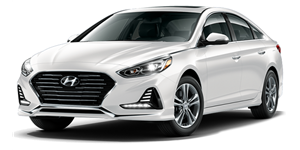 Hyundai Elantra fundo branco