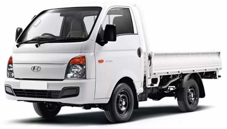 Hyundai HR com fundo branco