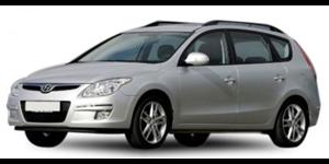 Hyundai i30 CW fundo branco
