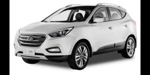 Hyundai ix35 fundo branco