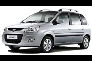 Hyundai Matrix fundo branco