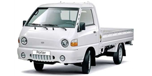 Hyundai Porter fundo branco