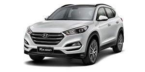 Hyundai Tucson fundo branco