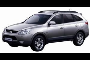 Hyundai Veracruz fundo branco