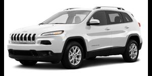 Jeep Cherokee fundo branco
