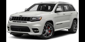Jeep Grand Cherokee fundo branco