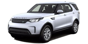 Land Rover Discovery fundo branco