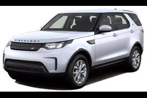 Land Rover Discovery com fundo branco