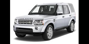 Land Rover Discovery4 fundo branco