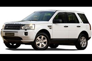 Land Rover Freelander2 com fundo branco