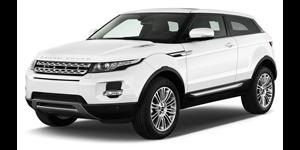 Land Rover Range Rover Evoque fundo branco
